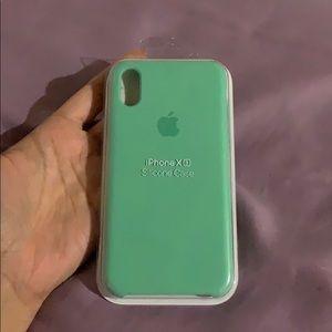Authentic apple silicone phone case